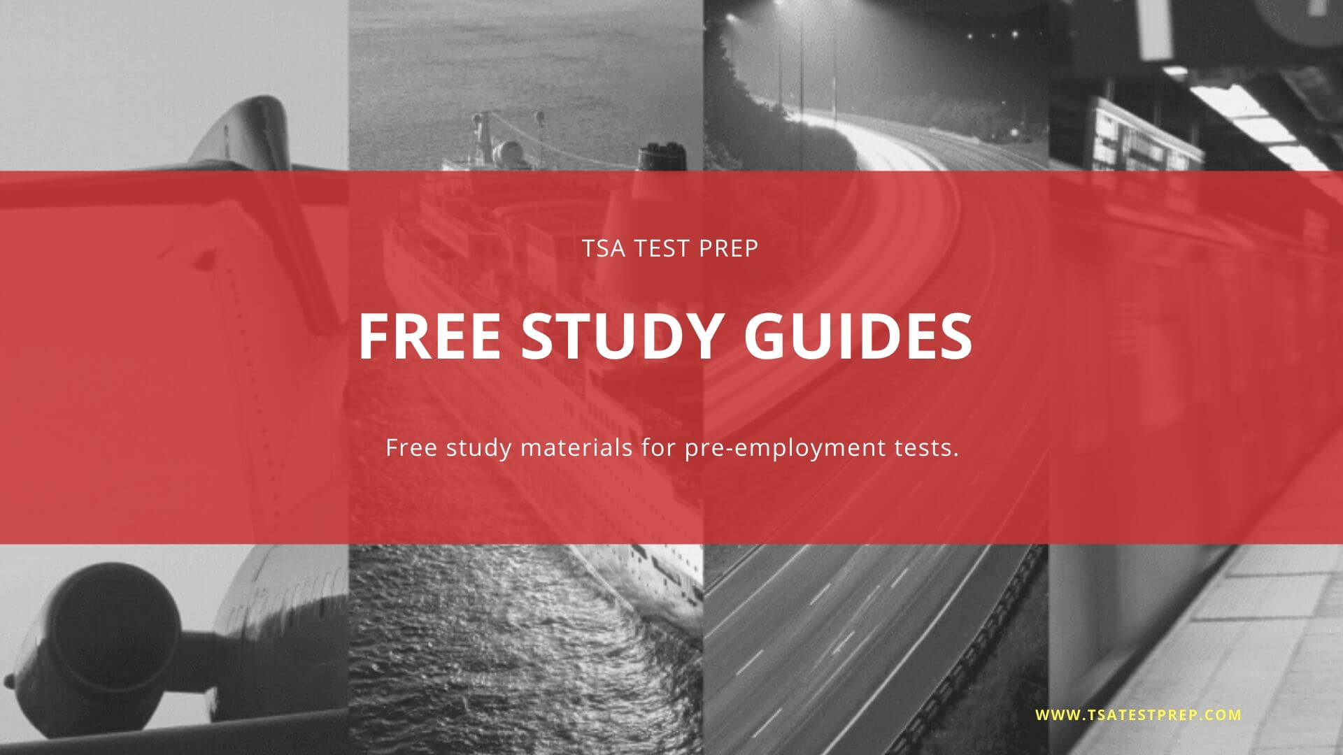 Access Free study materials for pre-employment tests.