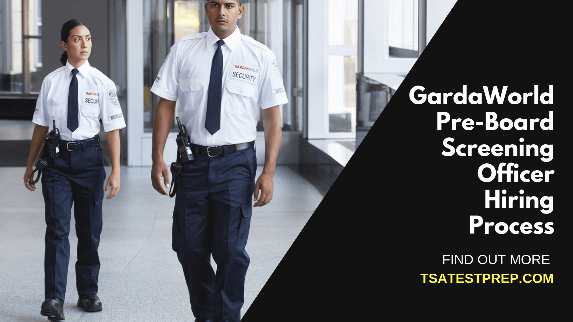 GardaWorld Pre-Board Screening Officer Hiring Process