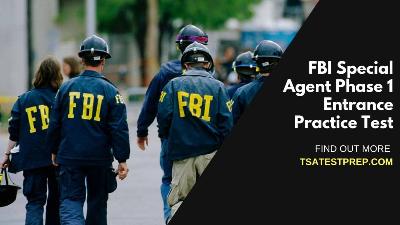 FBI Special Agent Phase 1 Entrance Practice Test