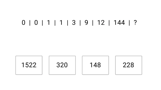 Caliper Number Series Sample Question