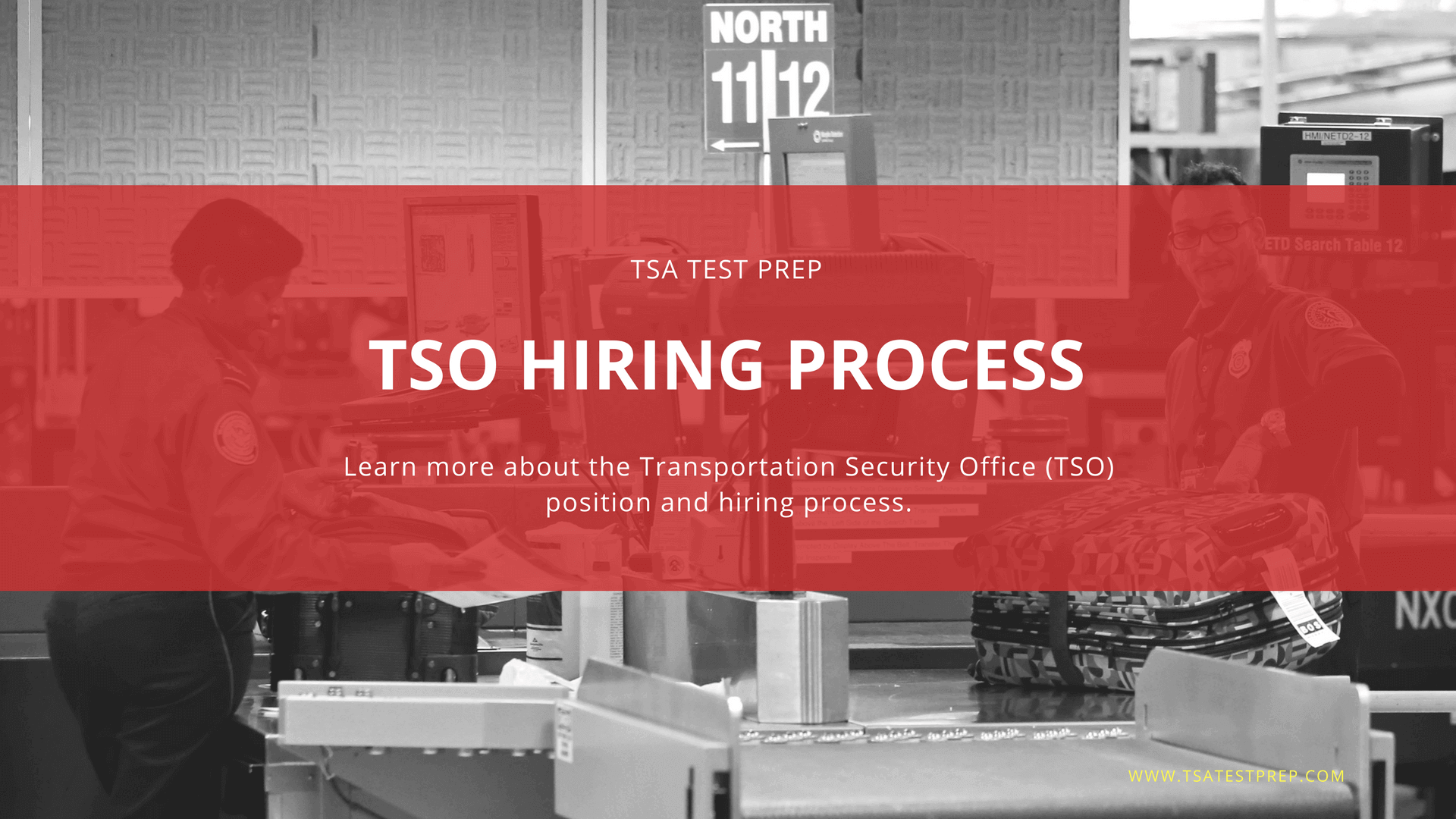 Transportation Security Officer (TSO) Hiring Process & Study Guide